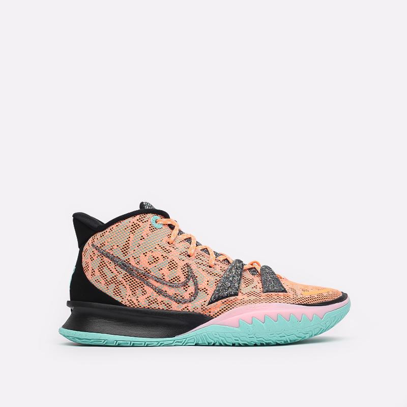 оранжевые  кроссовки nike kyrie 7 DD1447-800 - цена, описание, фото 1