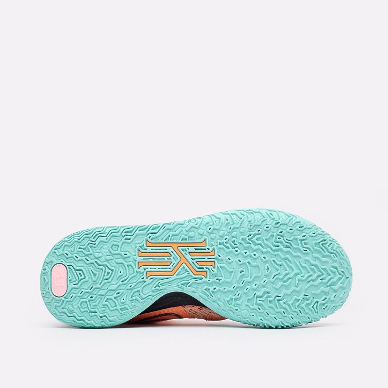 оранжевые  кроссовки nike kyrie 7 DD1447-800 - цена, описание, фото 4