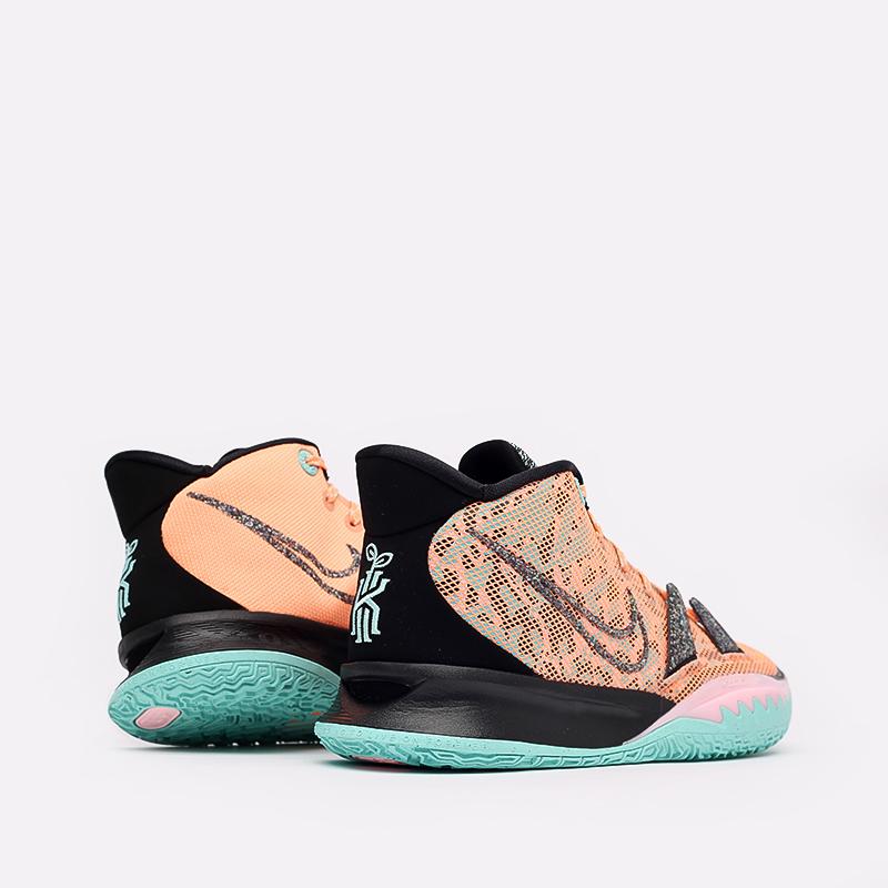 оранжевые  кроссовки nike kyrie 7 DD1447-800 - цена, описание, фото 3
