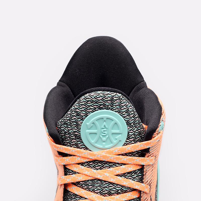оранжевые  кроссовки nike kyrie 7 DD1447-800 - цена, описание, фото 5
