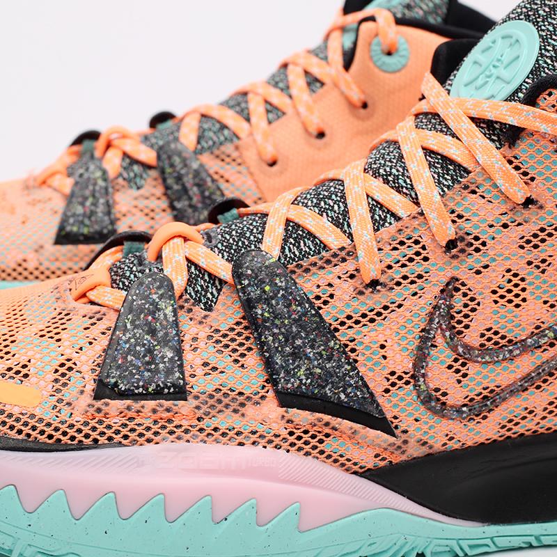 оранжевые  кроссовки nike kyrie 7 DD1447-800 - цена, описание, фото 6