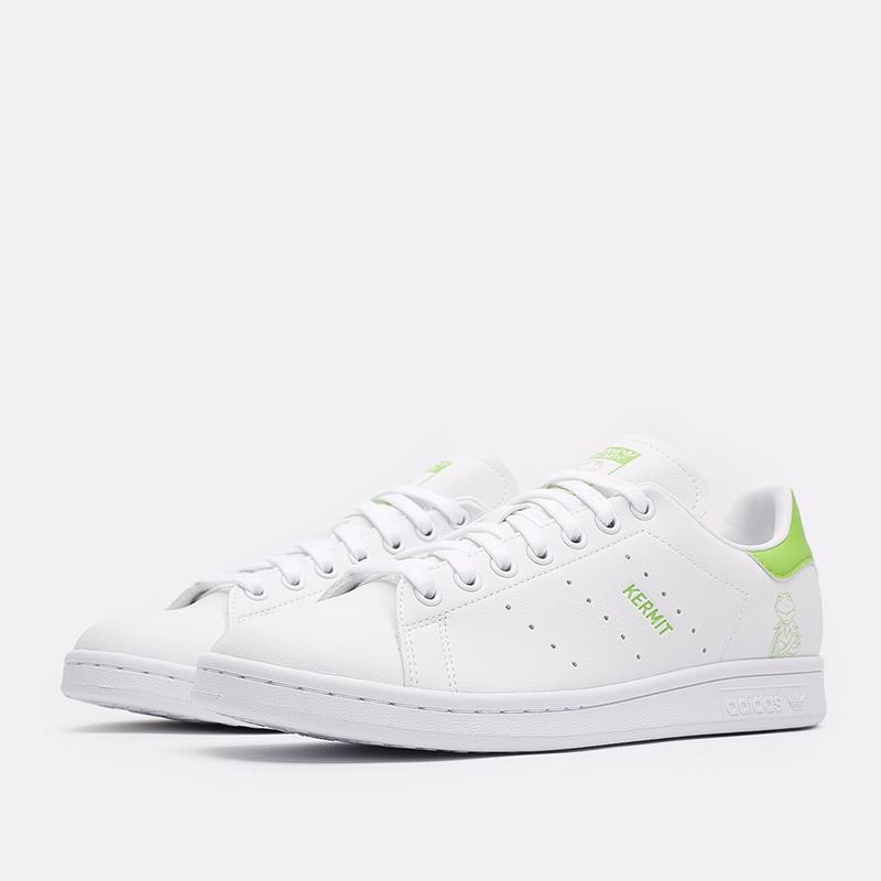 мужские белые  кроссовки adidas stan smith FX5550 - цена, описание, фото 2