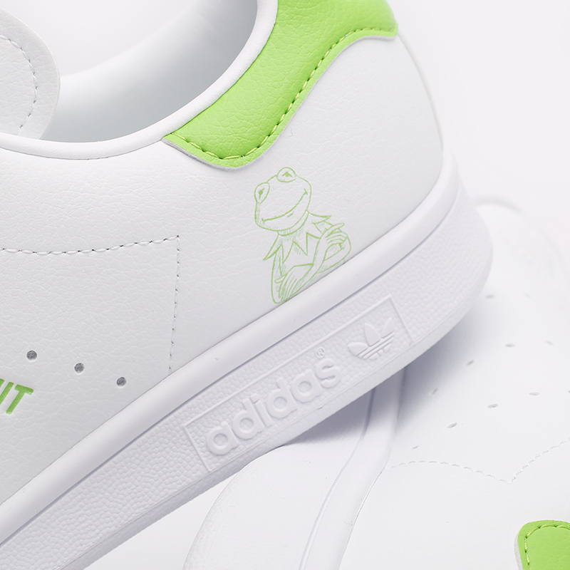 мужские белые  кроссовки adidas stan smith FX5550 - цена, описание, фото 5