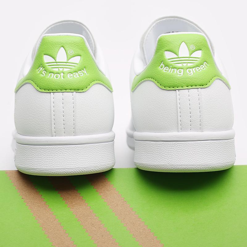 мужские белые  кроссовки adidas stan smith FX5550 - цена, описание, фото 8