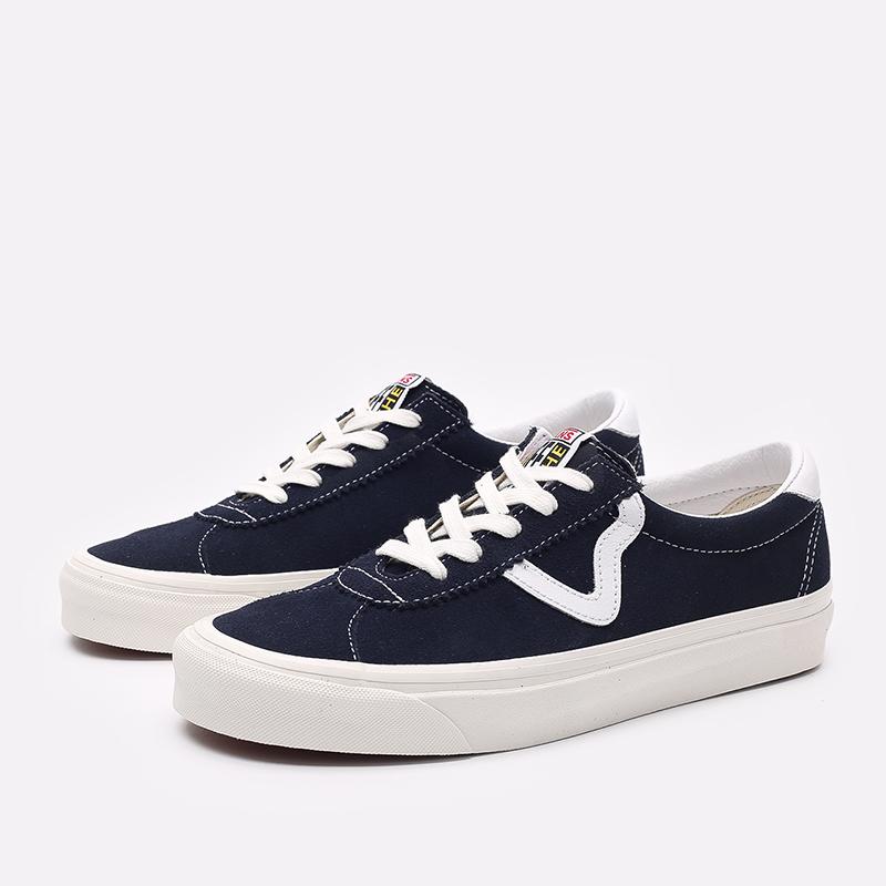 мужские синие  кроссовки vans style 73 dx VA3WLQR3UM - цена, описание, фото 4