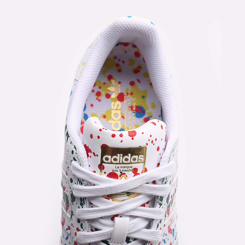 мужские белые  кроссовки adidas superstar FX5537 - цена, описание, фото 8