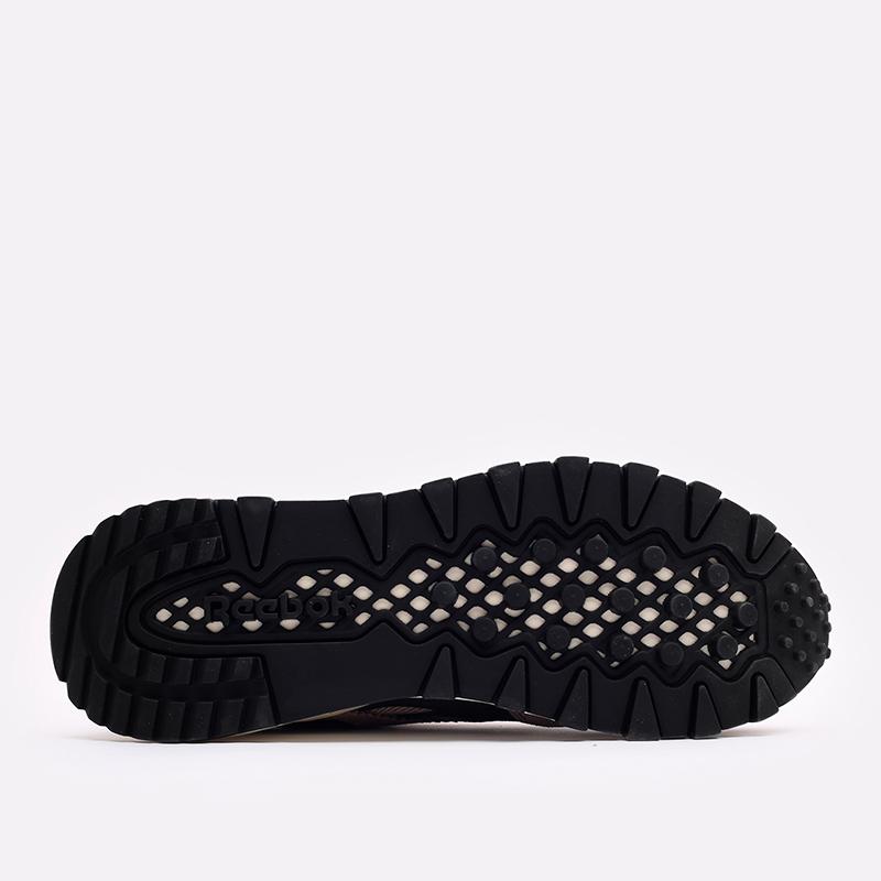 мужские бежевые  кроссовки reebok cl legacy x asap nast H01280 - цена, описание, фото 4