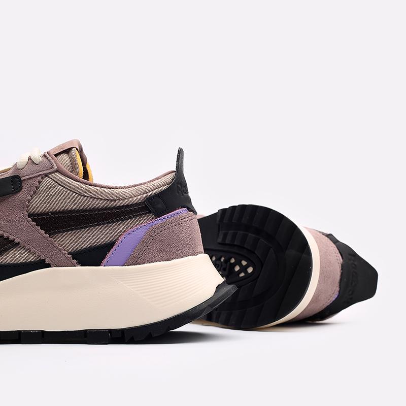 мужские бежевые  кроссовки reebok cl legacy x asap nast H01280 - цена, описание, фото 7