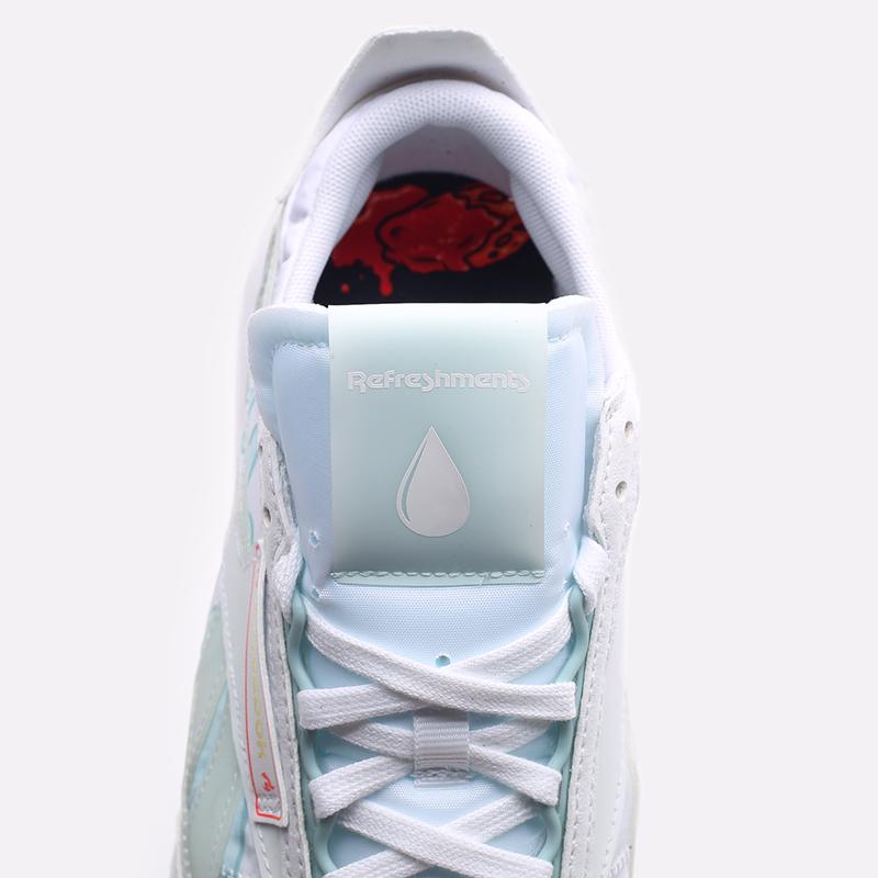 мужские белые  кроссовки reebok cl legacy x hot ones GV7092 - цена, описание, фото 7