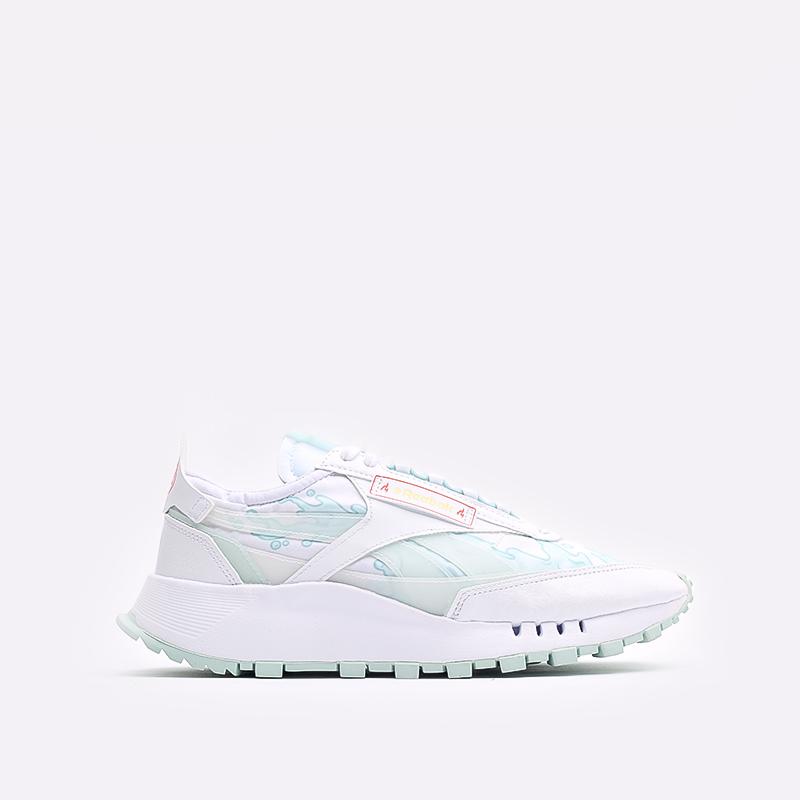 мужские белые  кроссовки reebok cl legacy x hot ones GV7092 - цена, описание, фото 1