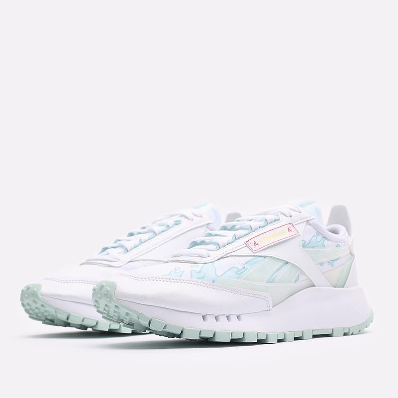 мужские белые  кроссовки reebok cl legacy x hot ones GV7092 - цена, описание, фото 2