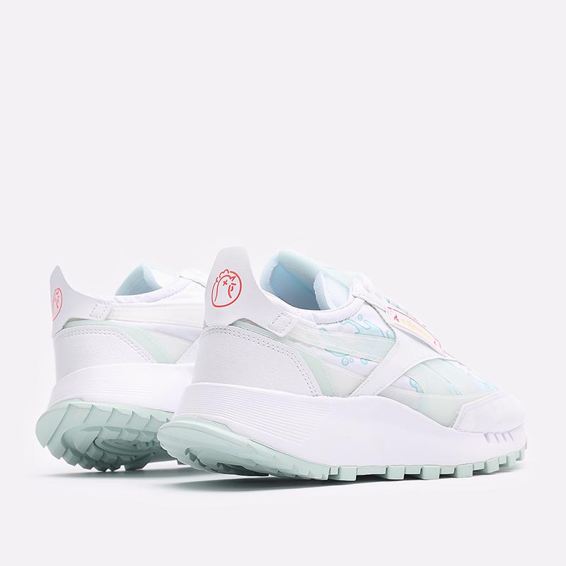 мужские белые  кроссовки reebok cl legacy x hot ones GV7092 - цена, описание, фото 3