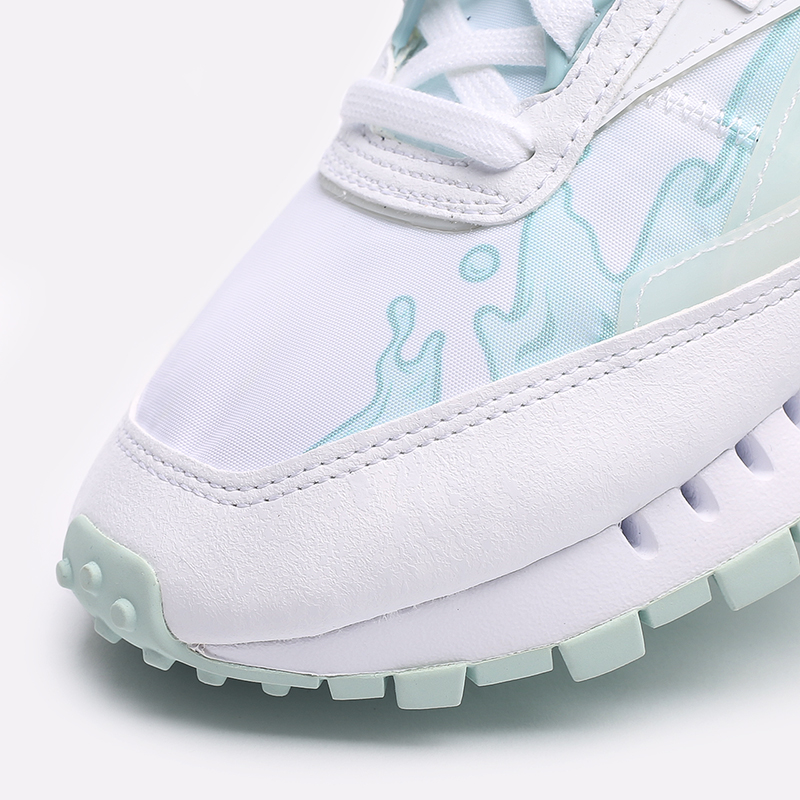 мужские белые  кроссовки reebok cl legacy x hot ones GV7092 - цена, описание, фото 6