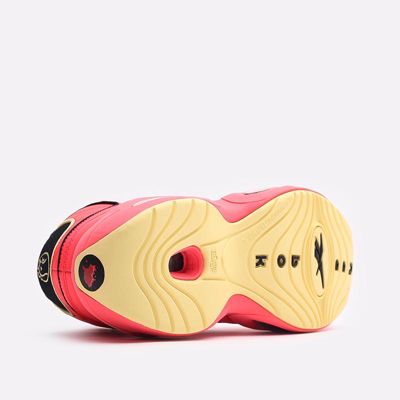 мужские красные  кроссовки reebok question mid x hot ones GV7093 - цена, описание, фото 4
