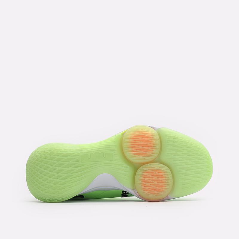 мужские зелёные  кроссовки nike lebron witness v CQ9380-300 - цена, описание, фото 4