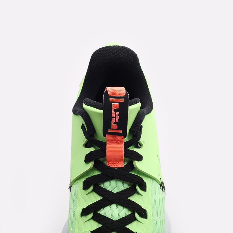 мужские зелёные  кроссовки nike lebron witness v CQ9380-300 - цена, описание, фото 6