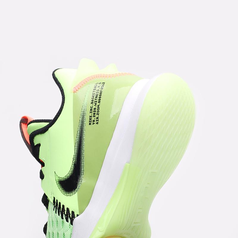 мужские зелёные  кроссовки nike lebron witness v CQ9380-300 - цена, описание, фото 5