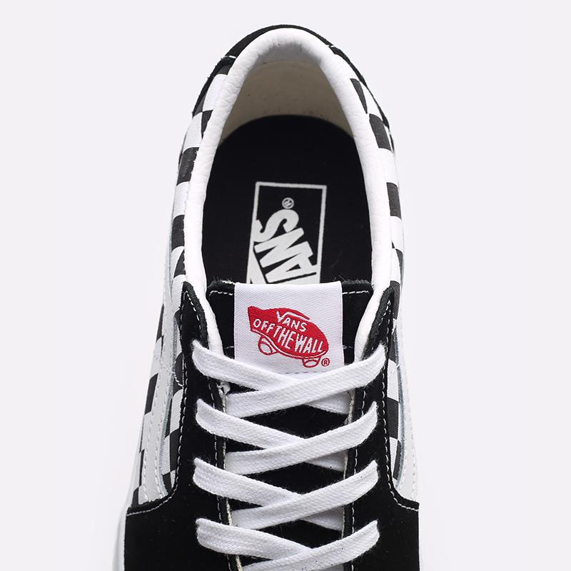 мужские черные, белые  кроссовки vans old skool VA4UUK4W7M - цена, описание, фото 5