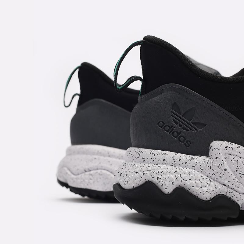 мужские черные  кроссовки adidas ozweego flipshield FY5776 - цена, описание, фото 7