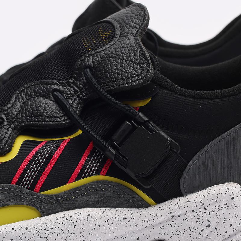 мужские черные  кроссовки adidas ozweego flipshield FY5776 - цена, описание, фото 5
