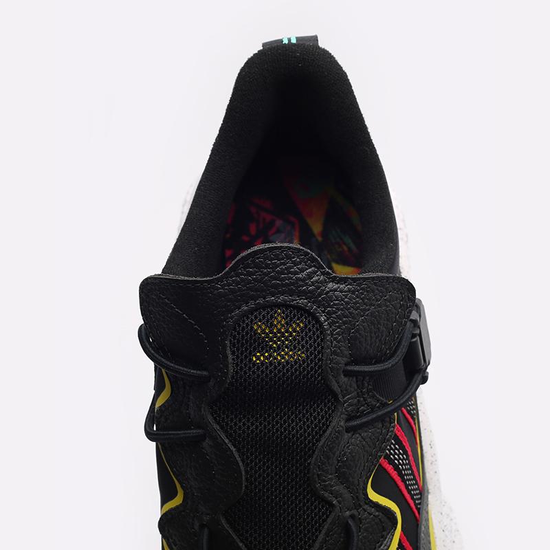 мужские черные  кроссовки adidas ozweego flipshield FY5776 - цена, описание, фото 4