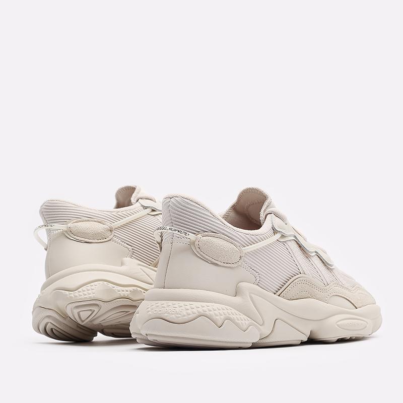 мужские бежевые  кроссовки adidas ozweego FX6029 - цена, описание, фото 3