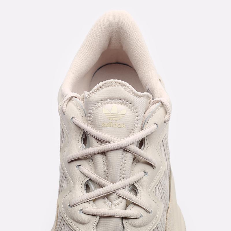мужские бежевые  кроссовки adidas ozweego FX6029 - цена, описание, фото 5