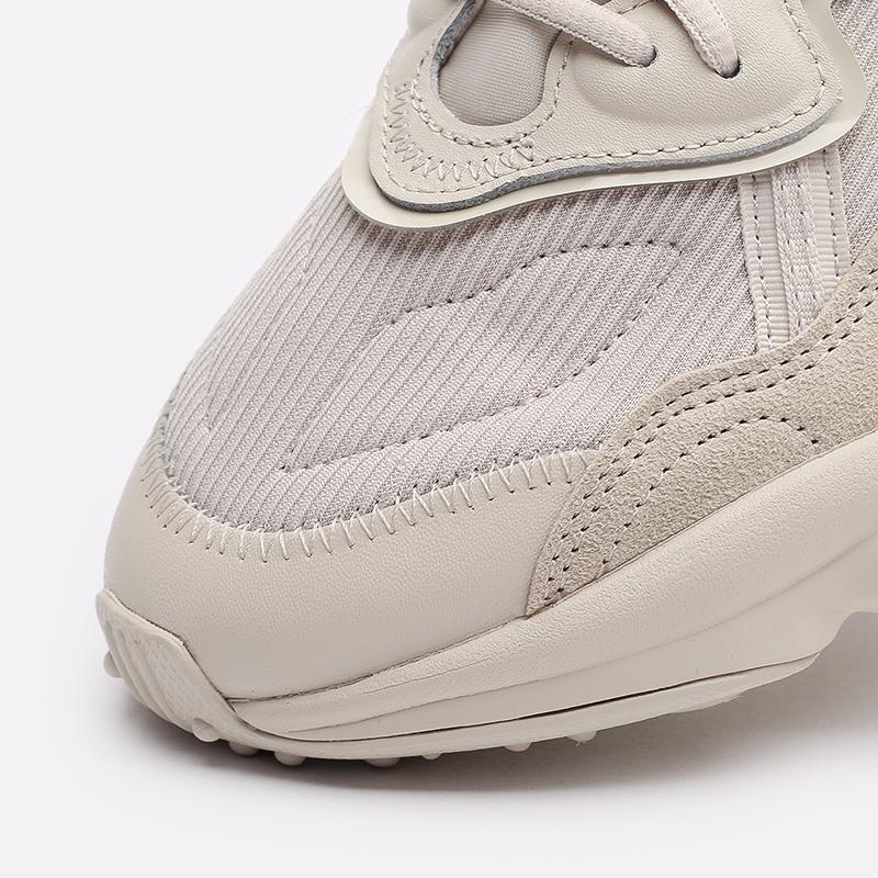 мужские бежевые  кроссовки adidas ozweego FX6029 - цена, описание, фото 6