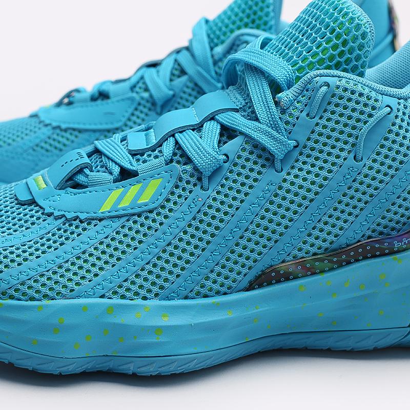 голубые  кроссовки adidas dame 7 FZ1050 - цена, описание, фото 6