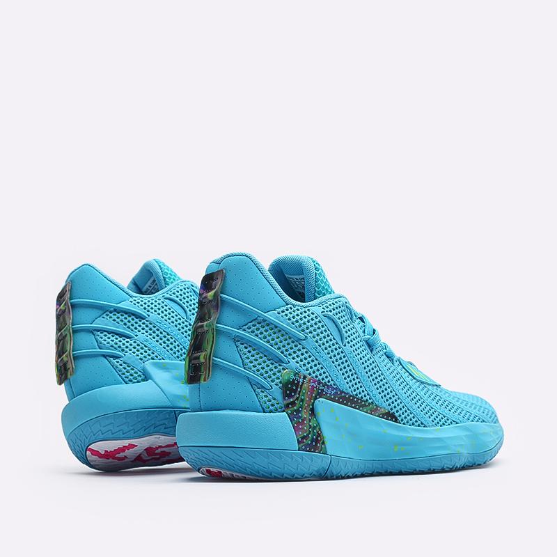 голубые  кроссовки adidas dame 7 FZ1050 - цена, описание, фото 3