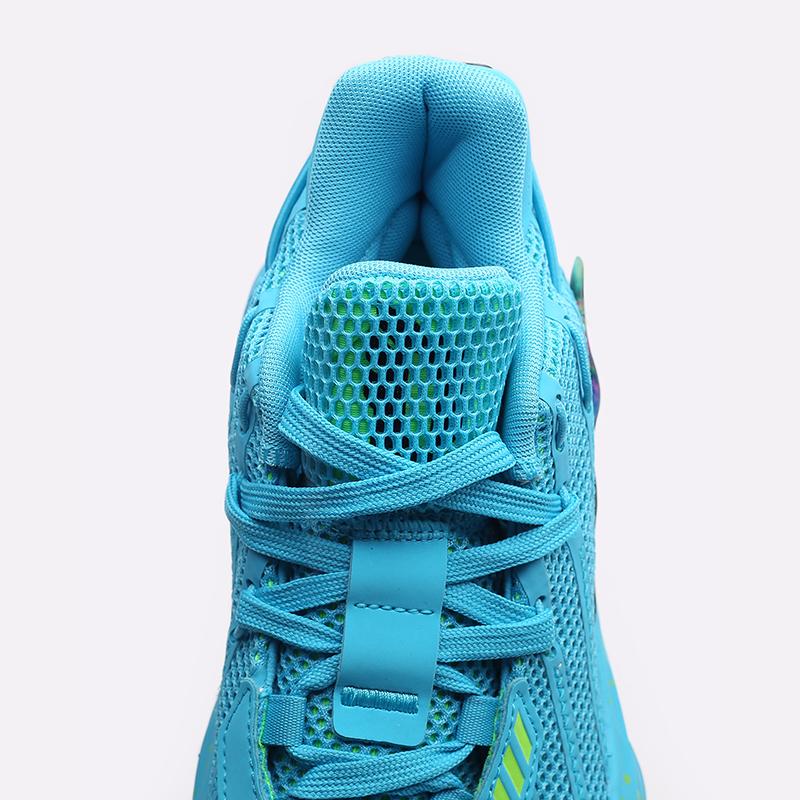голубые  кроссовки adidas dame 7 FZ1050 - цена, описание, фото 5