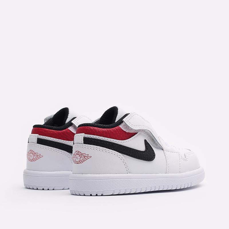 детские белые  кроссовки jordan 1 low alt (td) CI3436-118 - цена, описание, фото 3