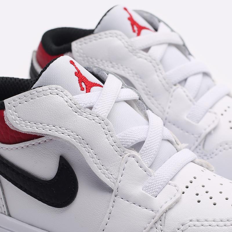 детские белые  кроссовки jordan 1 low alt (td) CI3436-118 - цена, описание, фото 5