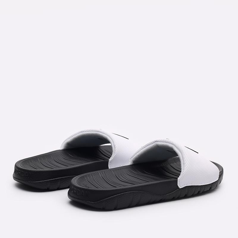 женские черные, белые  сланцы jordan break slide (gs) CD5472-100 - цена, описание, фото 3