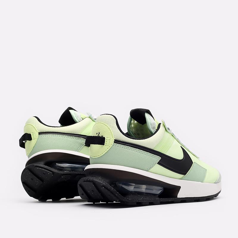зелёные  кроссовки nike air max pre-day DD0338-300 - цена, описание, фото 3