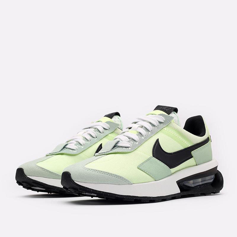 зелёные  кроссовки nike air max pre-day DD0338-300 - цена, описание, фото 2