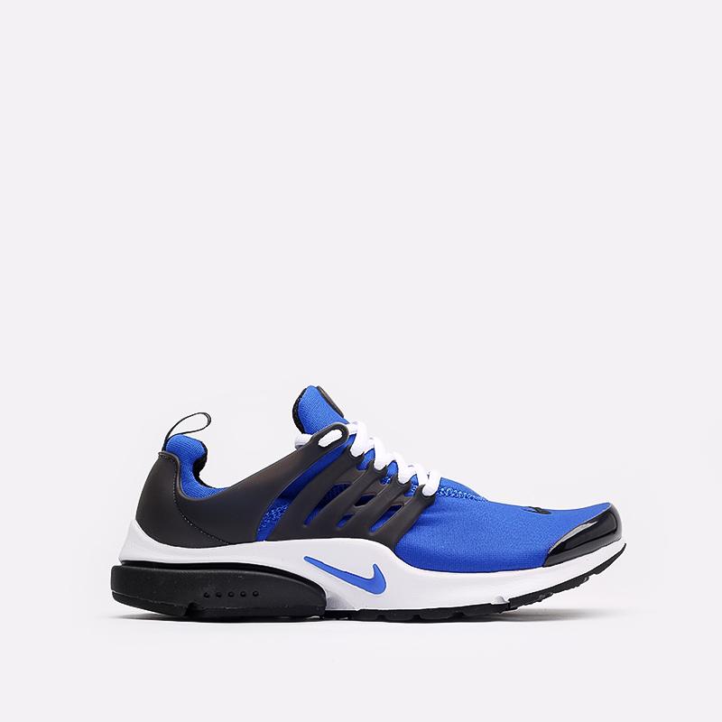 мужские синие, чёрные, белые  кроссовки nike air presto CT3550-400 - цена, описание, фото 1
