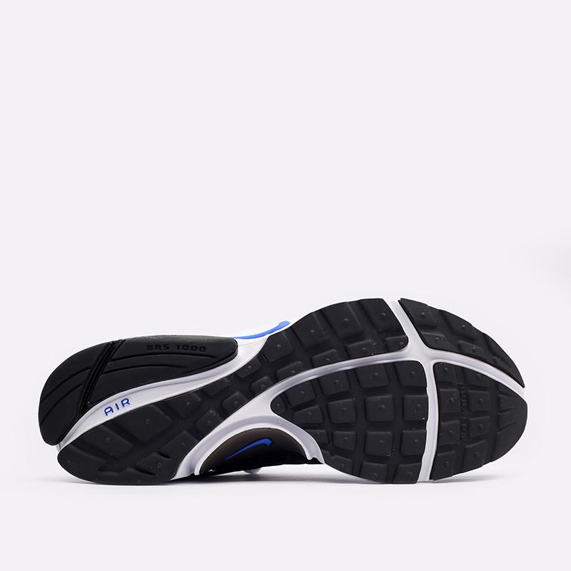 мужские синие, чёрные, белые  кроссовки nike air presto CT3550-400 - цена, описание, фото 4