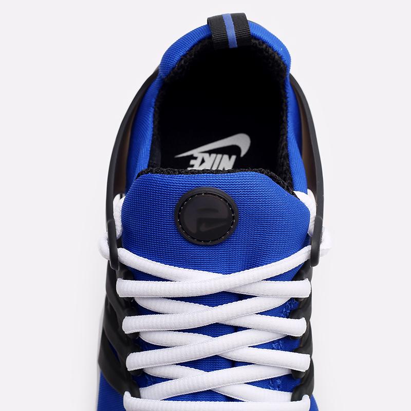мужские синие, чёрные, белые  кроссовки nike air presto CT3550-400 - цена, описание, фото 7