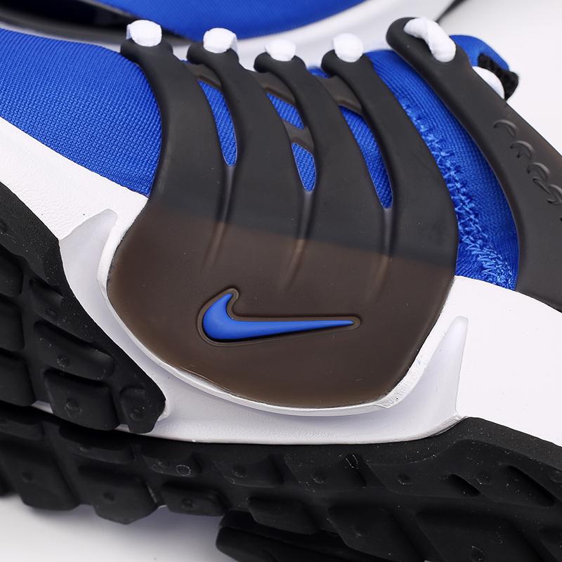 мужские синие, чёрные, белые  кроссовки nike air presto CT3550-400 - цена, описание, фото 6