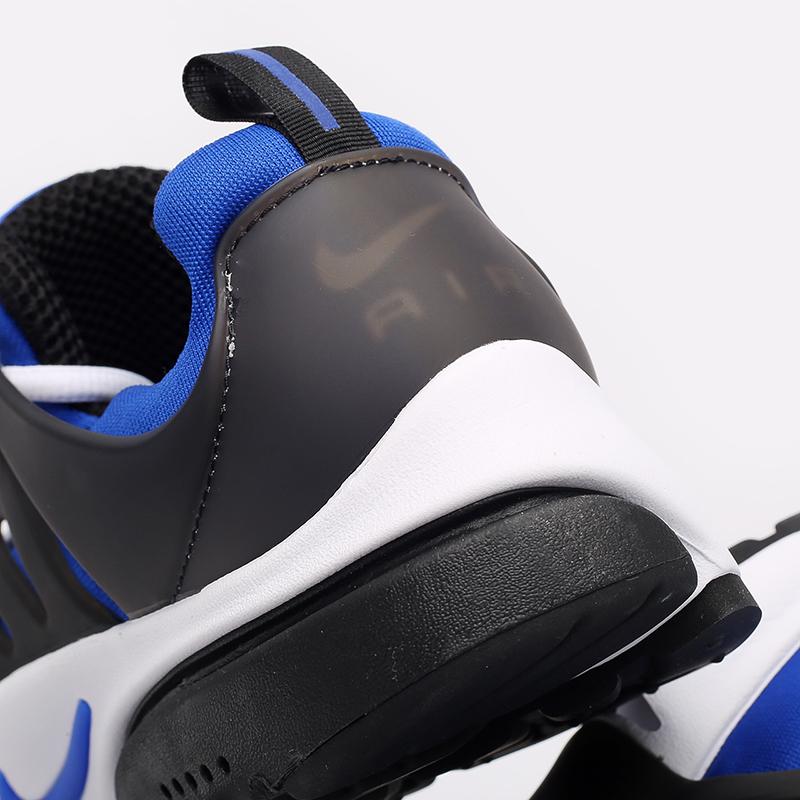 мужские синие, чёрные, белые  кроссовки nike air presto CT3550-400 - цена, описание, фото 5
