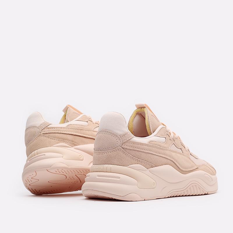 женские розовые  кроссовки puma rs-2k bold neutrals wn's 37494401 - цена, описание, фото 3