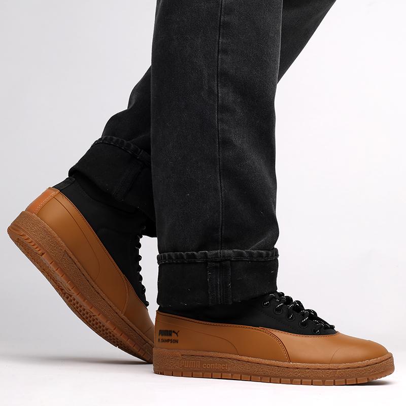 мужские черные кроссовки PUMA Ralph Samspon 70 x Kitsune 38029101 - цена, описание, фото 7