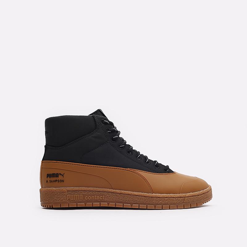мужские черные кроссовки PUMA Ralph Samspon 70 x Kitsune 38029101 - цена, описание, фото 1