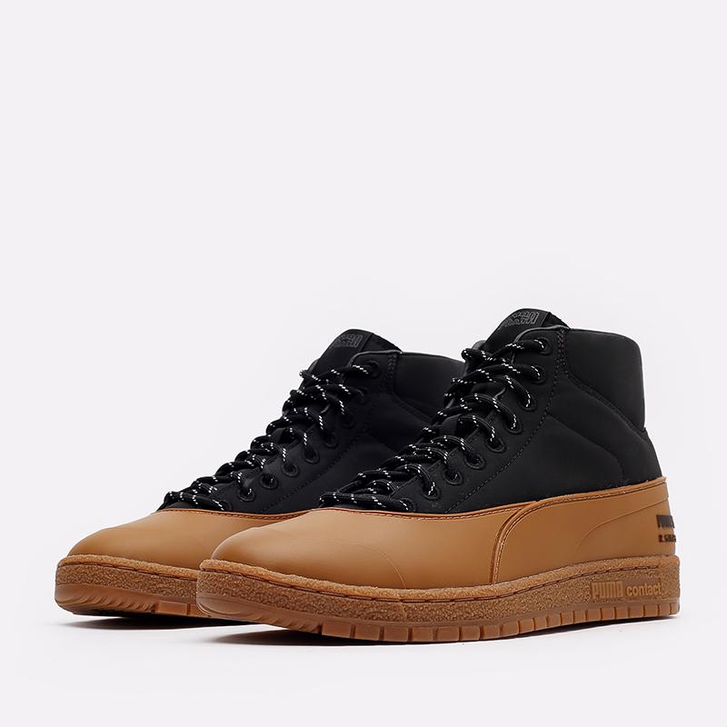 мужские черные кроссовки PUMA Ralph Samspon 70 x Kitsune 38029101 - цена, описание, фото 2