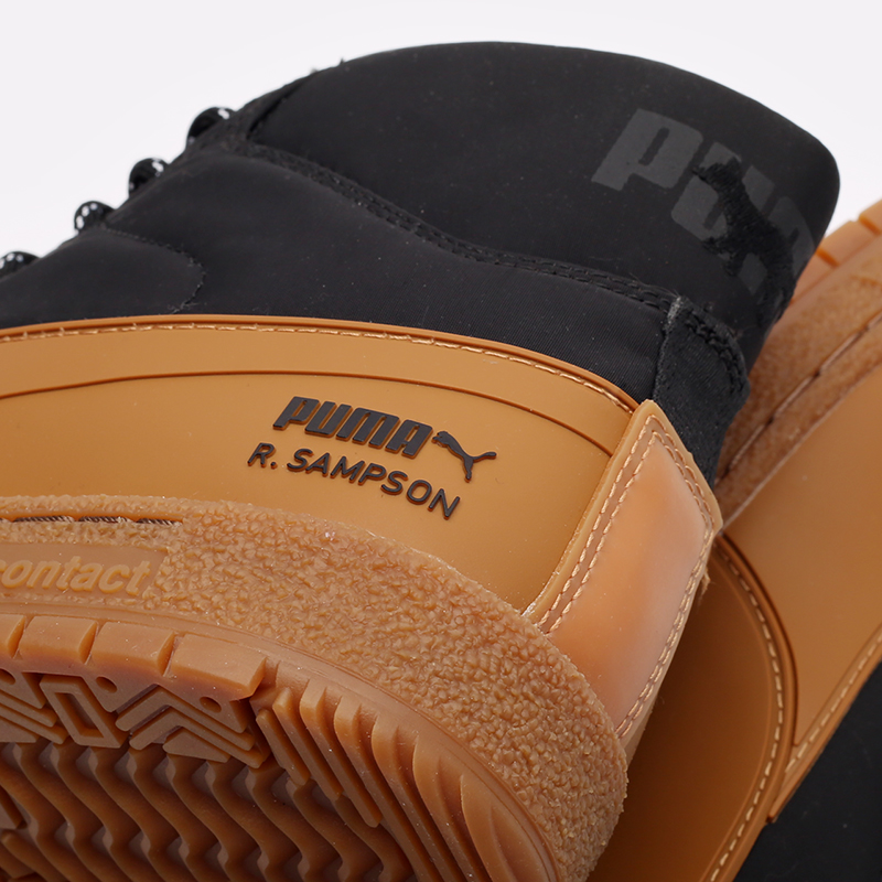 мужские чёрные, коричневые  кроссовки puma ralph samspon 70 x kitsune 38029101 - цена, описание, фото 5
