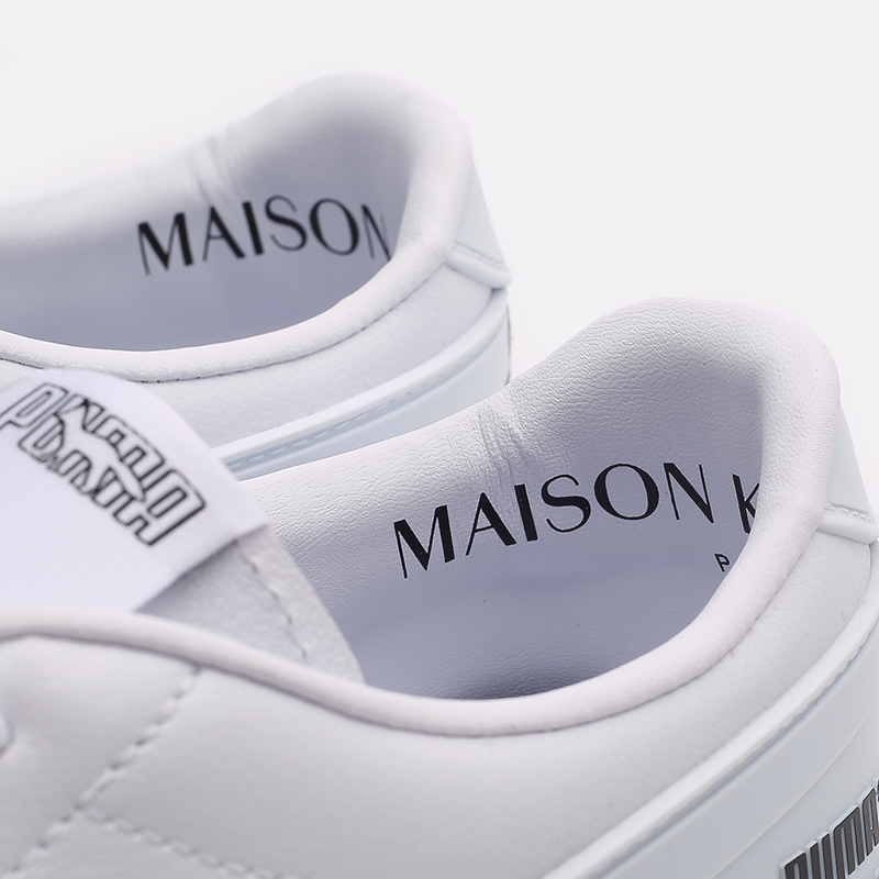 мужские белые  кроссовки puma ralph samspon 70 x kitsune 37564701 - цена, описание, фото 6