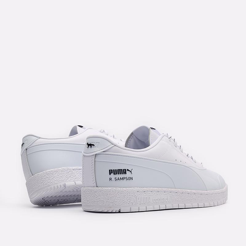 мужские белые  кроссовки puma ralph samspon 70 x kitsune 37564701 - цена, описание, фото 3
