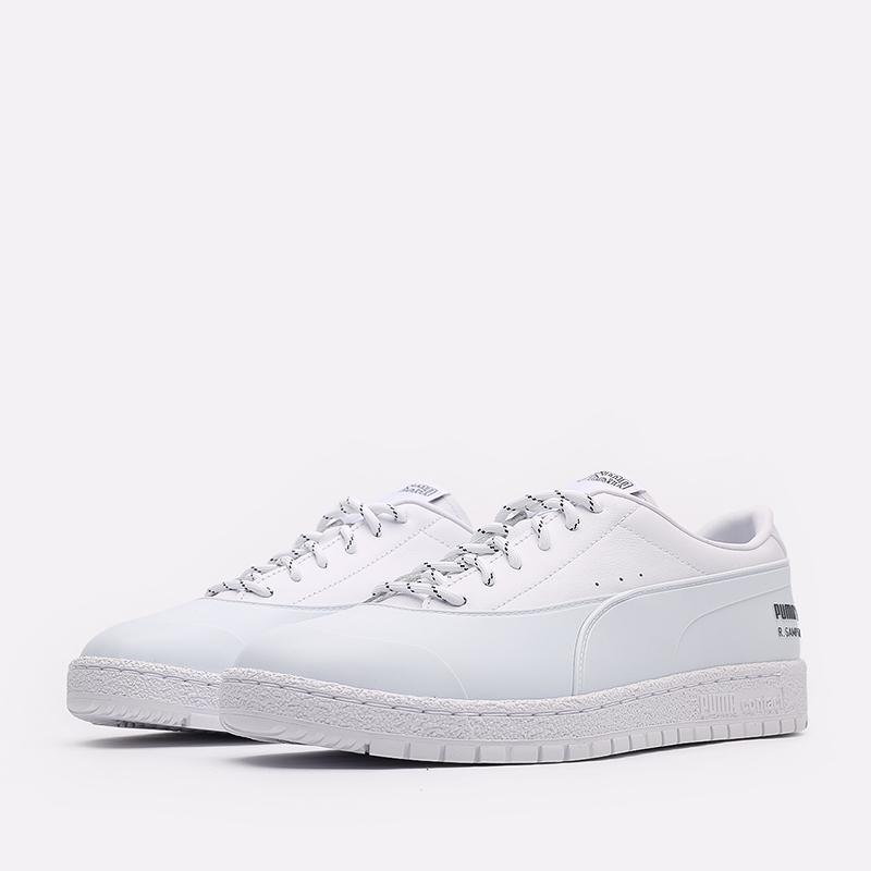 мужские белые  кроссовки puma ralph samspon 70 x kitsune 37564701 - цена, описание, фото 2