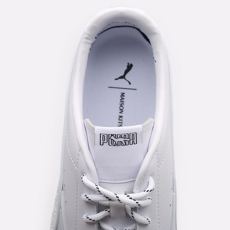 мужские белые  кроссовки puma ralph samspon 70 x kitsune 37564701 - цена, описание, фото 7